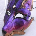 Sunset Coyote Mask