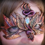 Autumn Dragon Mask