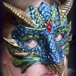 Blue Dragon Mask