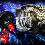 Silver Dragon Dice Holder 1