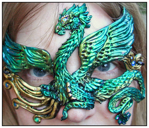 Feathered Dragon Mask